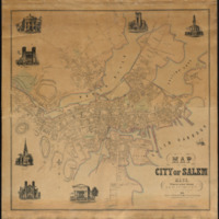 Map of the City of Salem